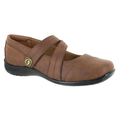 Easy Street Womens Mary Mary Jane Shoes Strap Round Toe