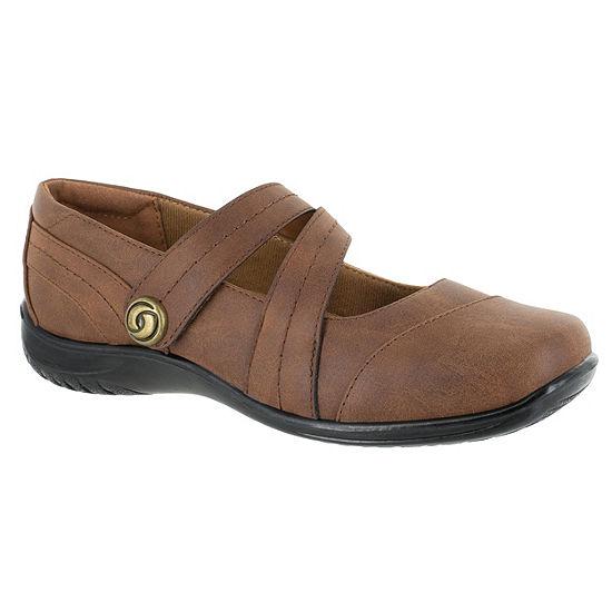 Easy Street Womens Mary Mary Jane Shoes Strap Round Toe