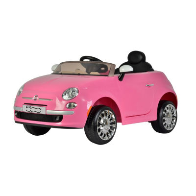 Best Ride On Cars Fiat 500 12V Electric Ride On