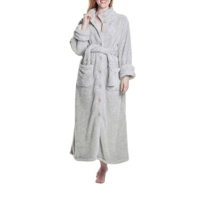 La Cera Fleece Robe