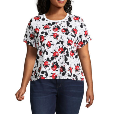 Mickey Mouse Cropped Tee - Juniors Plus