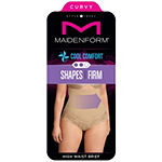 Maidenform Curvy Firm Foundations Hi-Waist Firm Control Control Briefs 1023j