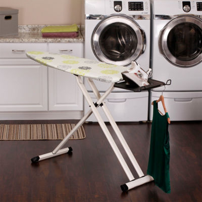 Household Essentials Steel Mesh Wide Top Ironing Board