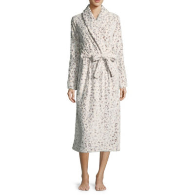 Liz Claiborne Plush Long Robe