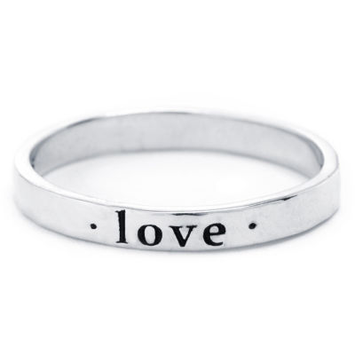 Silver Treasures Womens 2.5mm Sterling Silver Band