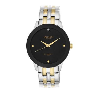 Armitron Unisex Two Tone Bracelet Watch-20/4952bktt