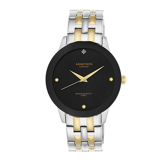 Armitron Unisex Two Tone Bracelet Watch-20/4952bktt