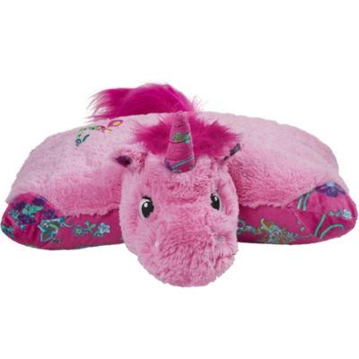"Colorful Unicorn 18"" Plush Pillow Pet"