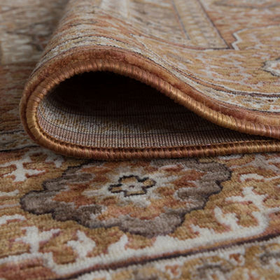 Tayse Phillip Traditional Oriental Runner Rug