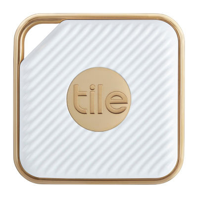 Tile Pro Style 2pk Smart Tracker - White/Champagne