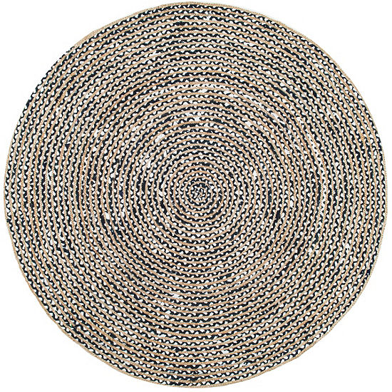 nuLoom Glinda Natural Fiber Round Area Rug
