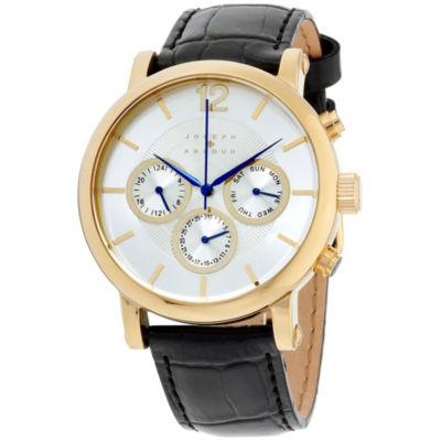 Joseph Abboud Mens Black Strap Watch-Ja3095g648-325