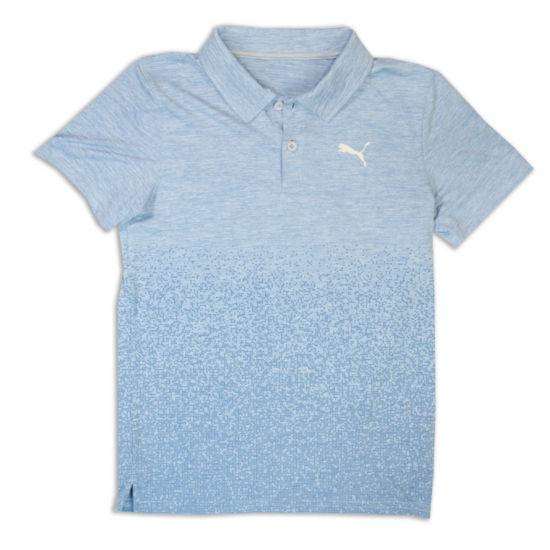 Puma Short Sleeve Jersey Polo- Big Kid Boys