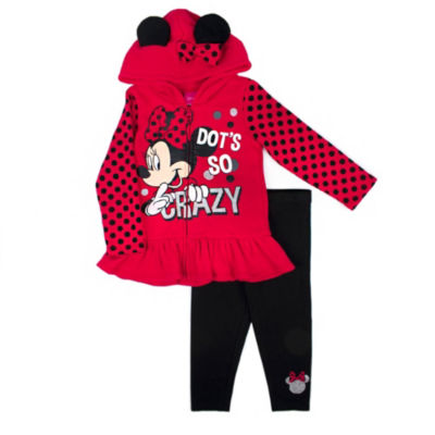 Disney 2-pc. Minnie Mouse Legging Set-Preschool Girls