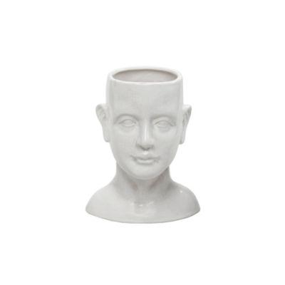 Madison Park Facade Human Shaped Ceramic Vase