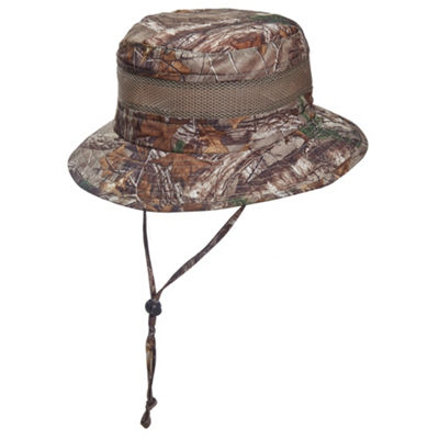 Stetson - Mens Camouflage Bucket Hat