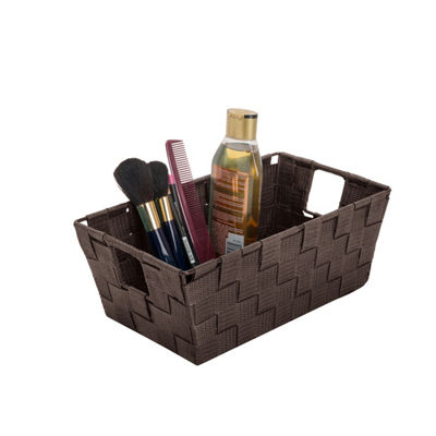 Woven Strap Small Shelf Tote 6.5x11.4x4.50