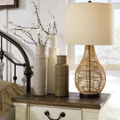 Signature Design by Ashley® Erwin 2-pc. Manufactured Wood Table Lamp