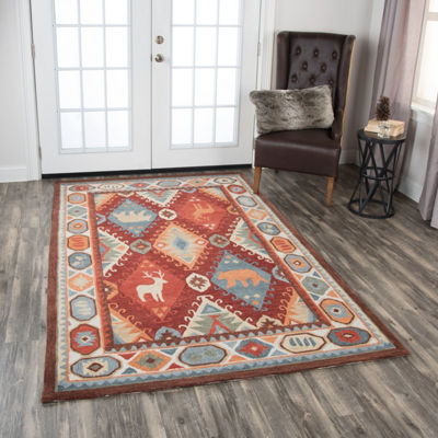 Rizzy Home Northwoods Collection Aiekin Hand-Tufted Area Rugs