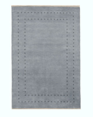 Handmade Wool Transitional Solid Lori Baft Rug