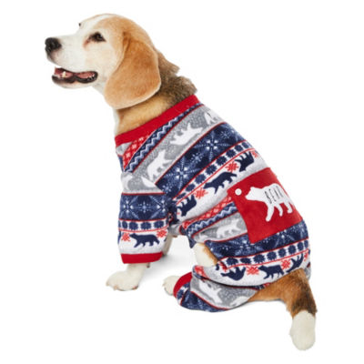 Sleepy Nites Fairisle 1 Piece Pajama- Pet