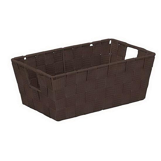Woven Strap Small Shelf Tote 6.5x11.4x4.50
