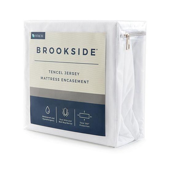 Brookside Tencel Lyocell Jersey Encasement Mattress Protector