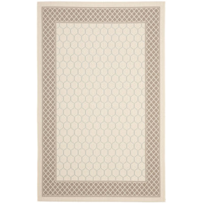 Safavieh Courtyard Collection Amilia Geometric Indoor/Outdoor Area Rug