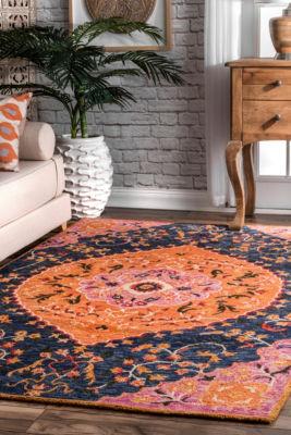 nuLoom Serafina Bohemian Wool Handmade Area Rug