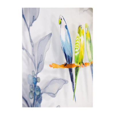 New View Love Birds Multi Layer Glass - Set 2-pc. Canvas Art