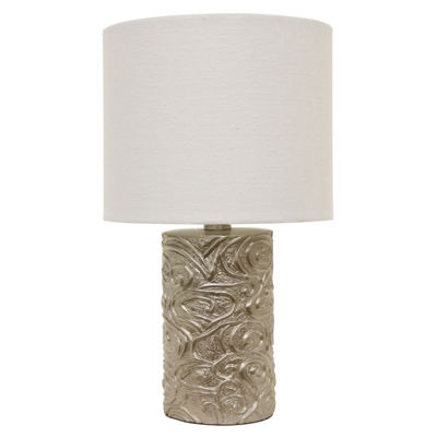 Decor Therapy Rose Accent Lamp