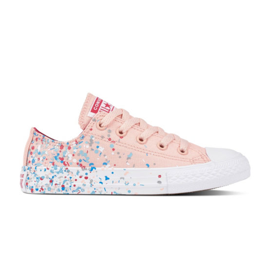 Converse Ctas Confetti Ox Girls Sneakers