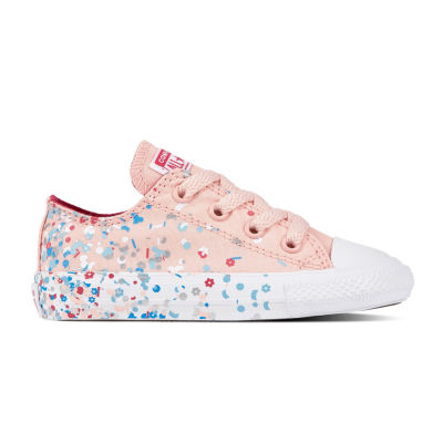 Converse Ctas Confetti Ox Girls Sneakers Lace-up - Toddler