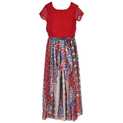 Maxi Dress with Cap Sleeves JCPenney