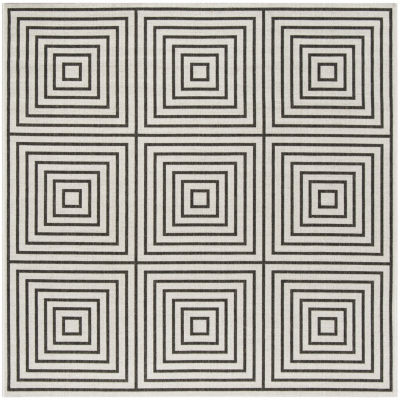 Safavieh Linden Collection Moriah Geometric SquareArea Rug