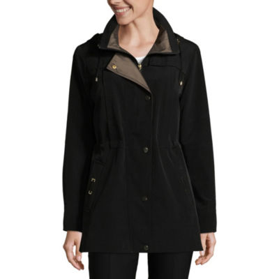 Liz Claiborne Woven Water Resistant Midweight Anorak