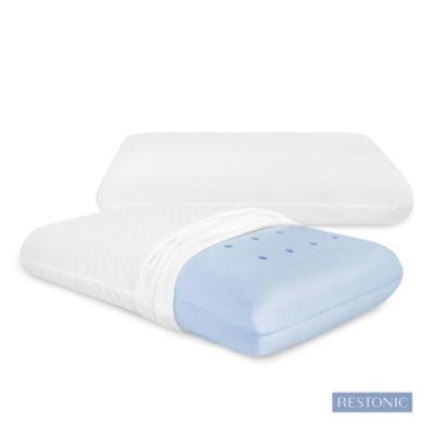 Restonic Classic Comfort Conventional Memory Foam Pillow 2-Pack