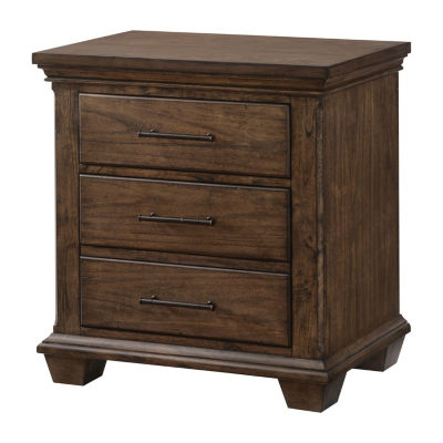Simmons® Astoria 3 Drawer Nightstand