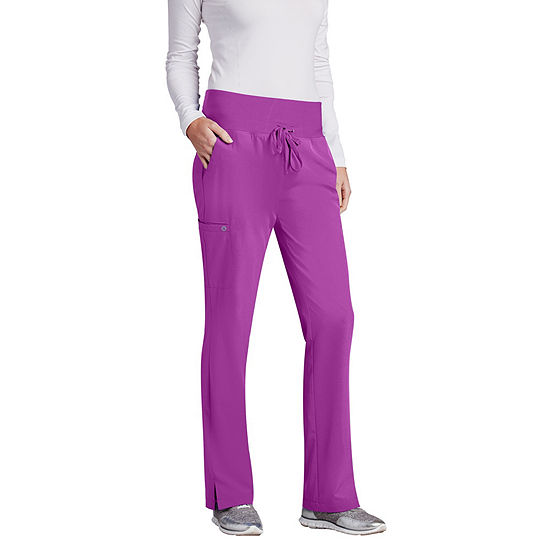 Barco One Womens 5206 Cargo Scrub Pants Tall Plus