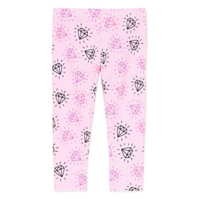 Okie Dokie Printed Leggings - Baby Girl NB-24M
