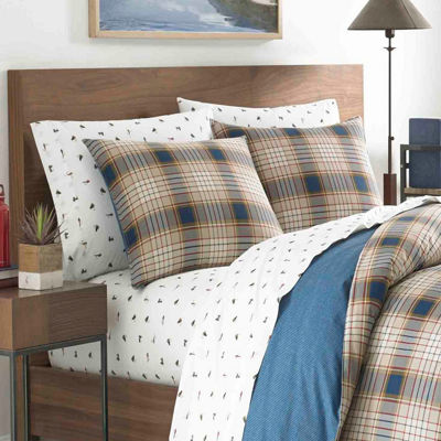 Eddie Bauer Elliot Plaid Duvet Cover Set