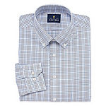 Stafford Executive Non-Iron Cotton Pinpoint Oxford Long-Sleeve Dress Shirt