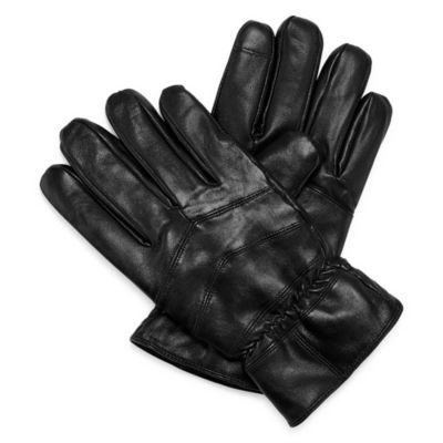 Stafford® Sherpa and Leather Cold Weather Gloves