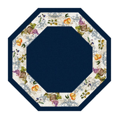 Brumlow Timeless Fruit Octagon Indoor Rugs