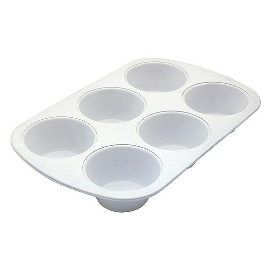 Range Kleen Ceramabake 6 Cup Jumbo Muffin Pan Non-Stick Muffin Pan