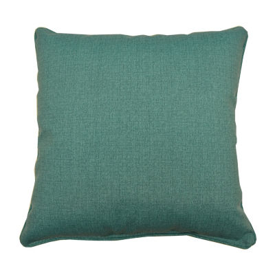 Husk Texture Square Corded Outdoor Pillow