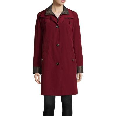 Miss Gallery Woven Lightweight Raincoat