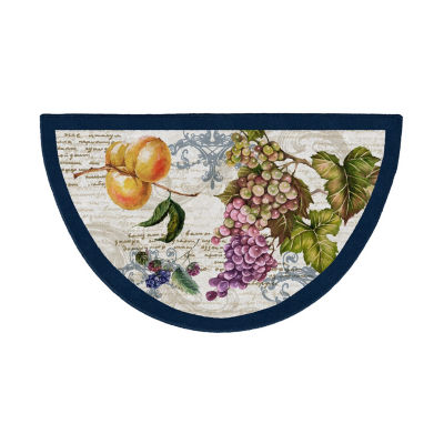 Brumlow Timeless Fruit Printed Wedge Rugs