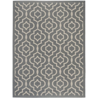 Safavieh Courtyard Collection Meryll Geometric Indoor/Outdoor Area Rug