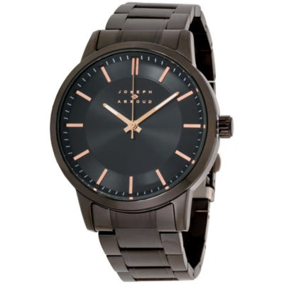 Joseph Abboud Mens Black Watch-Ja3190bk648-264